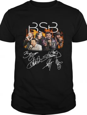 Backstreet Boys Nick Carter Kevin Richardson Howie Dorough AJ McLean Brian Littrell signature shirt