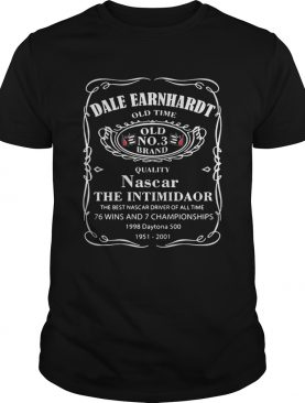Dale Earnhardt old time quality Nascar the intimidator shirt