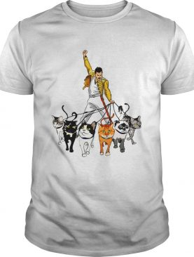 Freddie Mercury and his cats shirt
