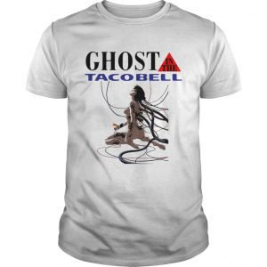 Guys Ghost in the Shell Ghost in the Taco Bell shirt