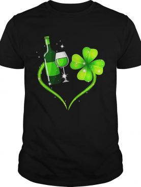 Goblet four leaf clover shirt