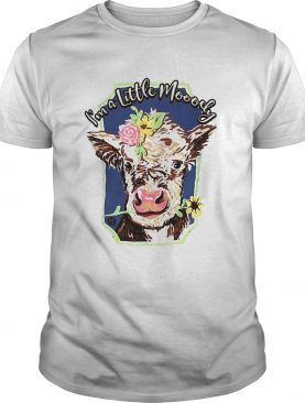 Heifer I'm a little moody shirt