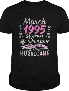 March 1995 24 years sunshine mixed with a little hurricane shirt