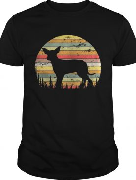 Mexican Hairless Dog Retro 70s Vintage Dog Shirt