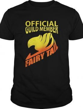 Official guild member Fairy Tail shirt