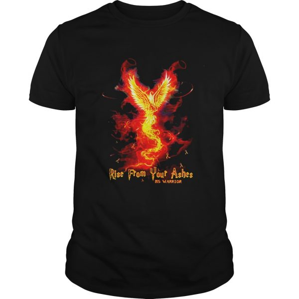 Guys RiseFrom Your Ashes MS Warrior shirt