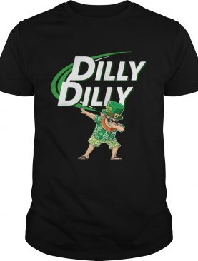St Patrick's dabbing dilly dilly shirt