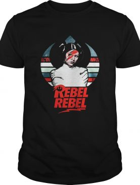 The sunset Decorative Mdf Star Wars Princess Leia Rebel Rebel shirt