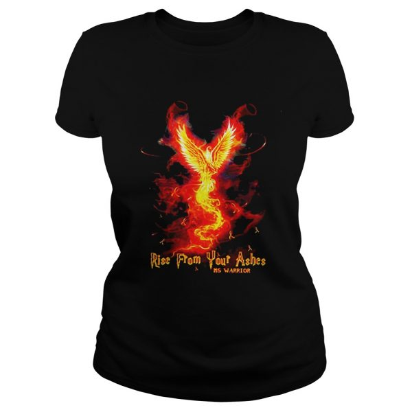 Ladies Tee RiseFrom Your Ashes MS Warrior shirt