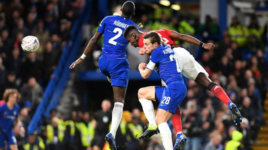 Manchester United knock Chelsea out of FA Cup with Pogba goal assist