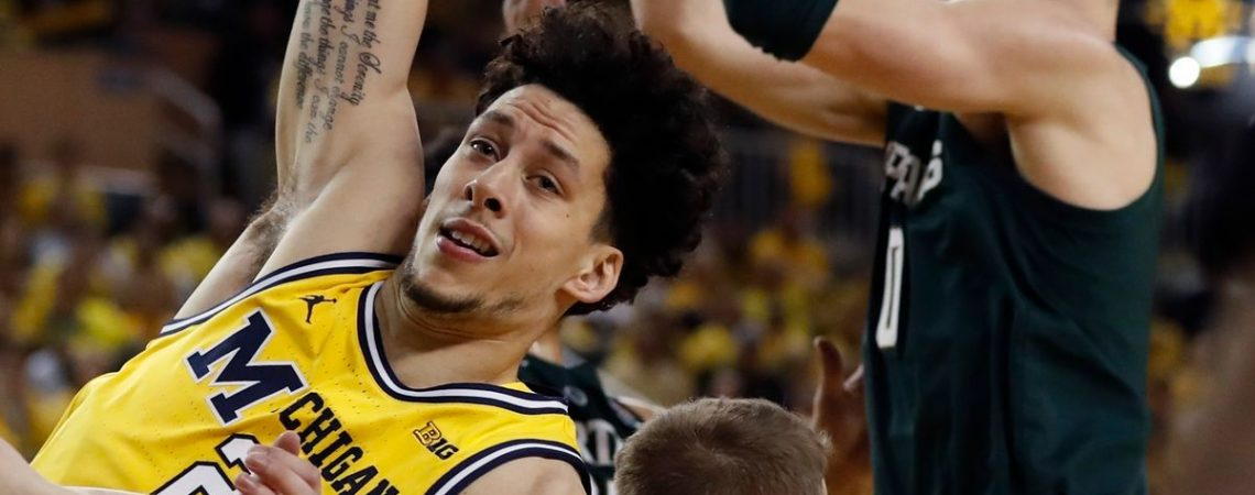 Michigan basketball comes up empty in 2nd half vs. Michigan State