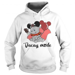 Dumbo loves Mickey Mouse vacay mode Hoodie