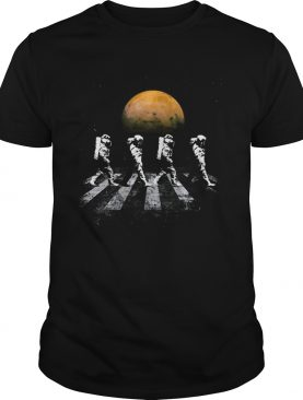 Astronauts in Walking in Space Occupy Mars Gift Shirt