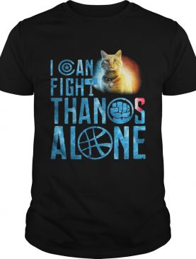 Cat Goose I can fight Thanos alone shirt