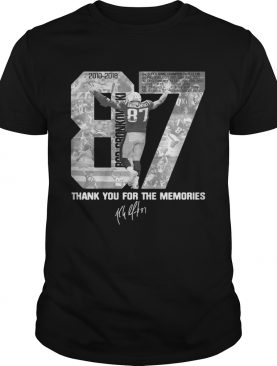 Rob Gronkowskis Thank You For The Memories shirt