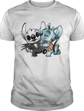 Stitch and Angel Jack Skellington The Nightmare Before Christmas shirt