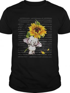 Sunflower Baby elephant shirt