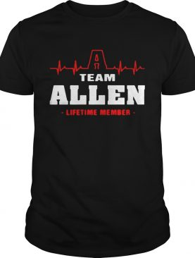 Team Allen lifetime member shirt