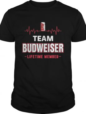 Team Budweiser lifetime member Shirt