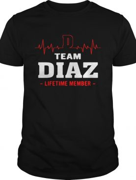 Team Diaz lifetime member shirt