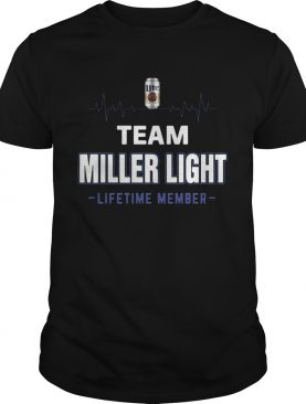 Team Miller Light lifetime member Shirt