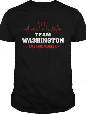 Team Washington lifetime member shirt