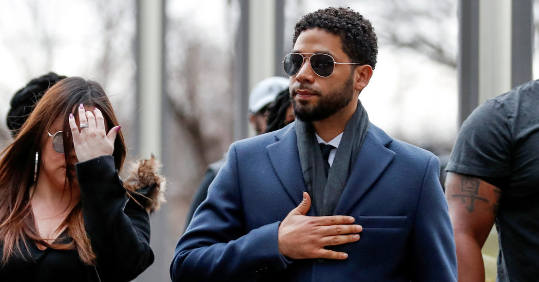 Jussie Smollett's Charges Are Dropped, Angering Mayor and Police