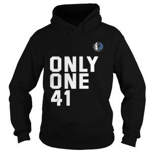 Dallas Mavericks Dirk 41.21.1 Only One 41 Hoodie