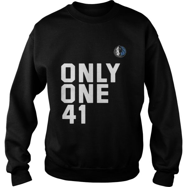 Dallas Mavericks Dirk 41.21.1 Only One 41 Sweatshirt