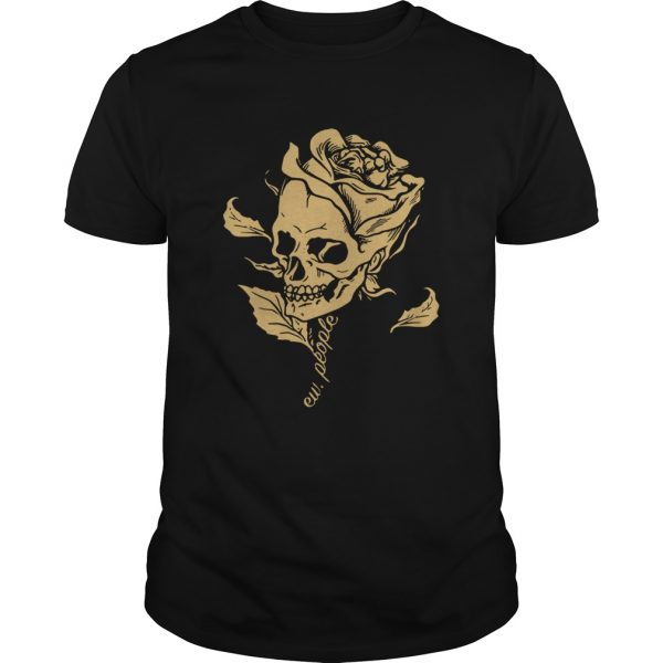Dark Art Beauty in Everything Smiling Skull and Rose Guys