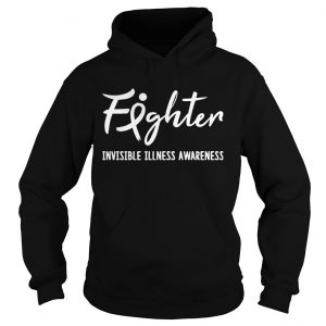 Fighter Invisible Illness Awareness Hoodie