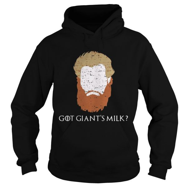 Game Of Thrones face Tormund Giantsbane the big woman still here Hoodie