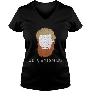 Game Of Thrones face Tormund Giantsbane the big woman still here Ladies Vneck