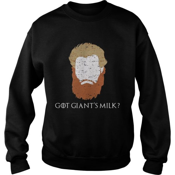Game Of Thrones face Tormund Giantsbane the big woman still here Sweatshirt