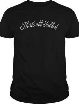 Anthony Davis That's All Folks shirt