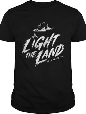 Cleveland Cavaliers 2019 Light The Land Playoffs shirt