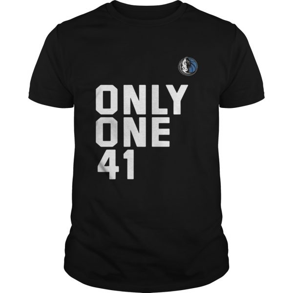 Guys Dallas Mavericks Dirk 41.21.1 Only One 41 shirt