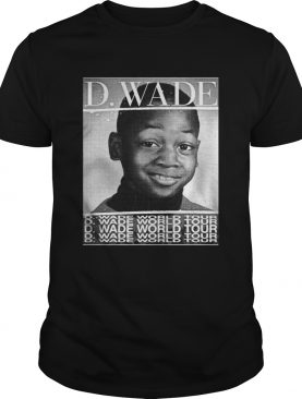 Dwyane Wade World Tour shirt