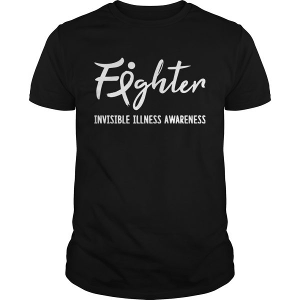 Guys Fighter Invisible Illness Awareness TShirt