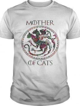 Floral Tropical Mother Of Cats Game of Thrones shirt