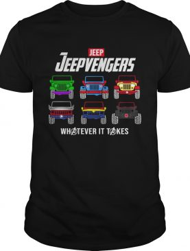Jeep Jeepvengers whatever it take Marvel Endgame shirt