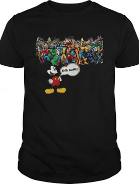 Mickey mouse Marvel Endgame shirt