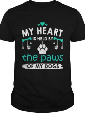 My Heart Is Held By The Paws Of My Dogs T-Shirt