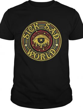 Sick sad world Men-T-Shirt