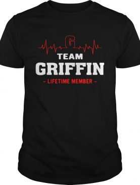 Team Griffin lifetime member shirt
