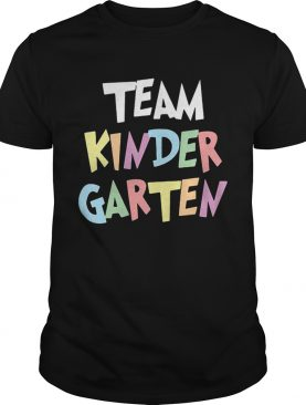Team Kindergarten shirt