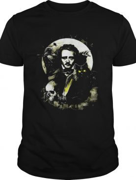 The Raven and The Black Cat Edgar Allan Poe shirt