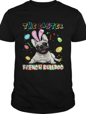 The easter french bulldog shirt