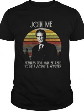 Unsolved Mysteries join me perhaps you may be able to help solve a mystery retro shirt