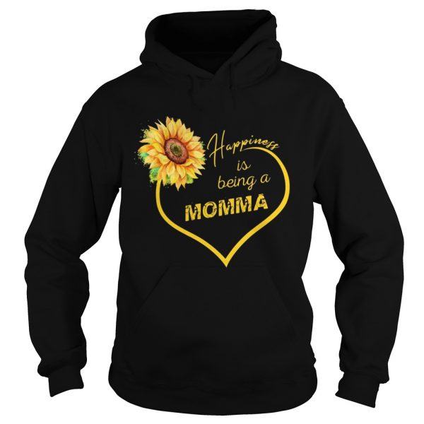 Happiness Is Being A Momma Sunflower Hoodie